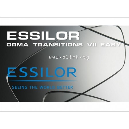 Essilor Orma Transitions VII Crizal Easy