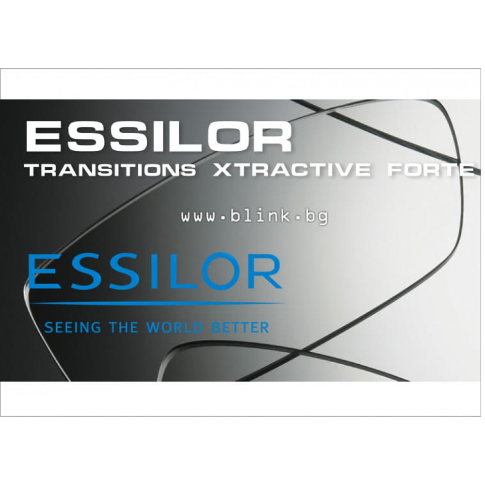 6a7353250a Essilor Transitions Xtractive Crizal Forte фотосоларни стъкла