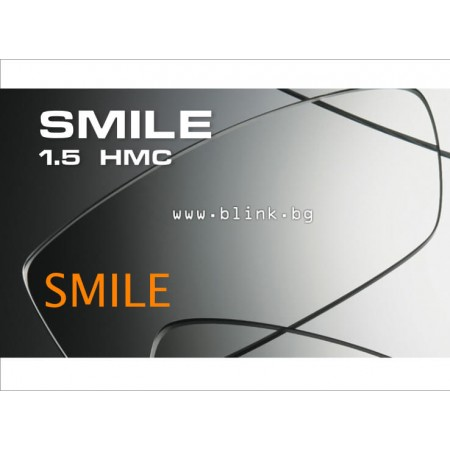 Smile 55 Junior оптични лещи с антирефлексно покритие (за деца) 2 бр. индекс 1.5
